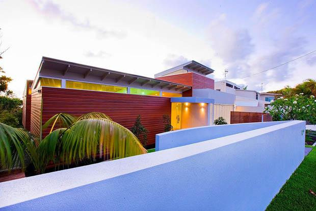 สี กำแพง บ้าน ที่โดดเด่น